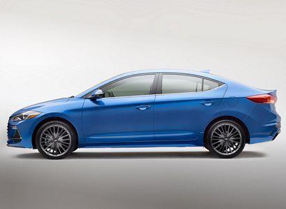 Hyundai unveils new Elantra Sport
