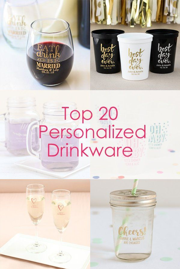 Looking for the perfect personalized drinkware? Check out our top 20 favorite cups and glasses to get inspired!