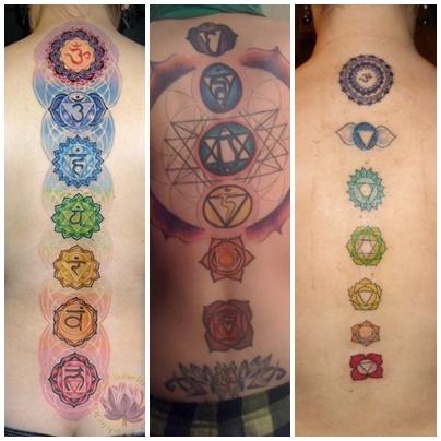 chakra tattoo | tattoes | Pinterest | Colors, Chakra and ...