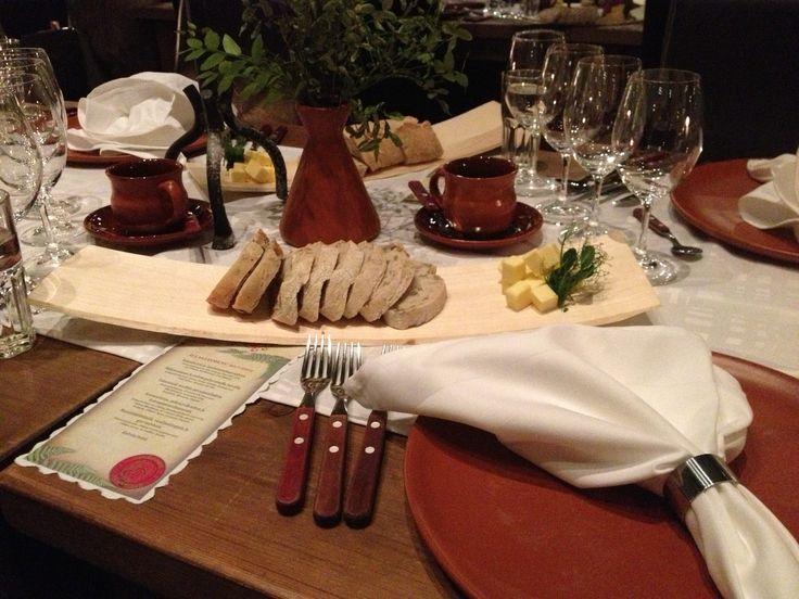 Dinner at Restaurant Piikatyttö.