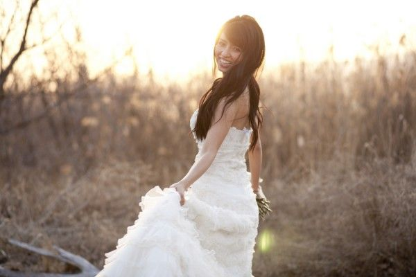 Romantic pre wedding photo by Lora Grady Photography | Done Brilliantly