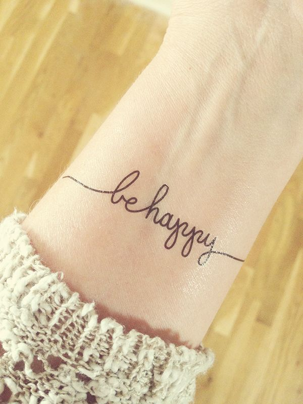 My 2015 Focus Word / Phrase is Be Happy... I will be using this phrase to shape the decisions I make throughout the year. A be happy mindset is key!