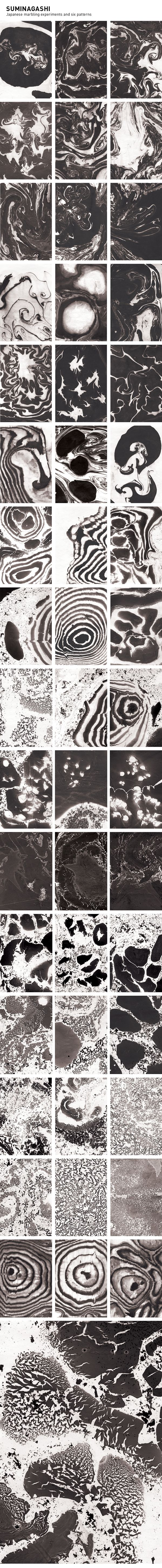 Suminagashi Experiments and Patterns on Behance