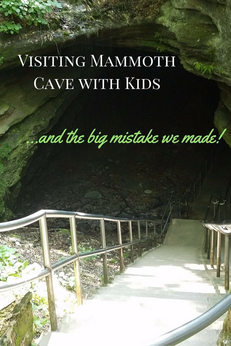 Visiting Mammoth Cave in Kentucky with Kids!
