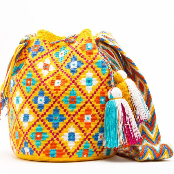 WAYUU TRIBE | Handmade Bohemian Bags  $159.00 www.wayuutribe.com