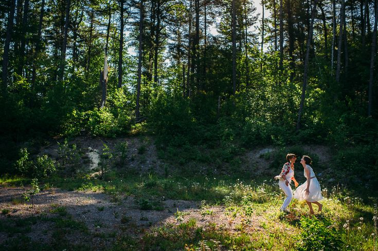 gorgeous gay couple day after wedding session