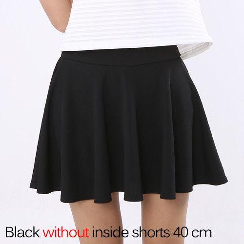 Short Skirt for Women 2017 All Fit Tutu School Skirt White Back Color Women Clothing Short Skirts Faldas Ball Gown