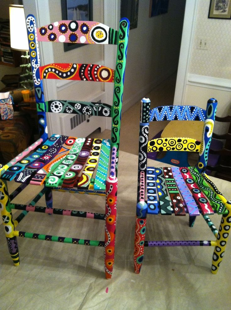 Elegant Best 25+ Whimsical Painted Furniture Ideas On Pinterest | Hand Painted  Chairs, Painted Chairs And Funky Painted Furniture