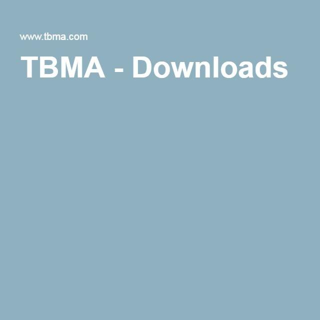 TBMA - Downloads
