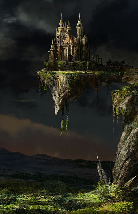 fantasy art wizard castle - photo #20