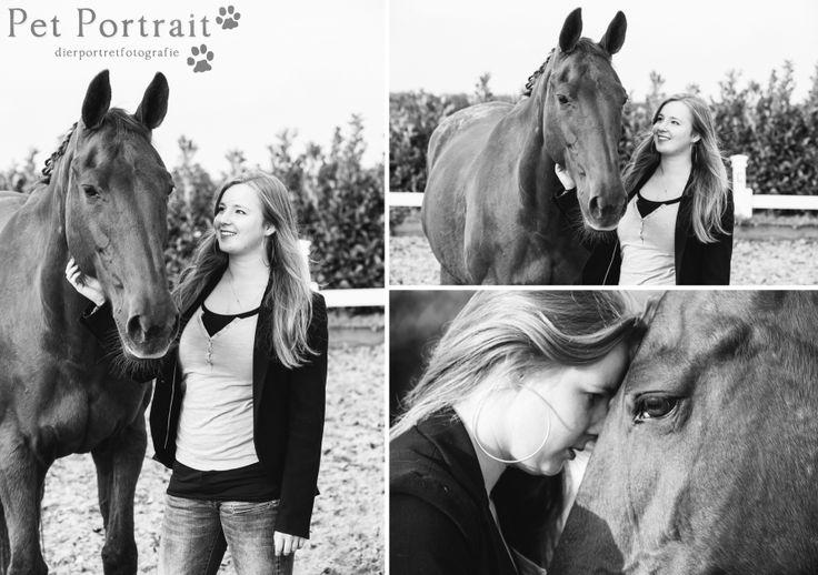 Paardenfotografie Lekkerkerk - Dier & Baasje fotoshoot paarden Miranda en Angel-4