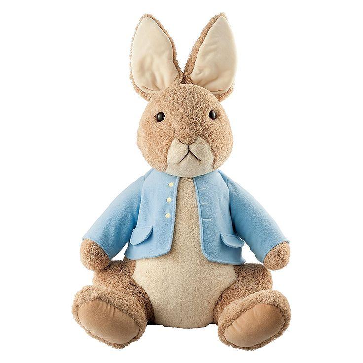 GUND Beatrix Potter Plush Peter Rabbit Jumbo Plush Toy: Amazon.co.uk: Toys & Games