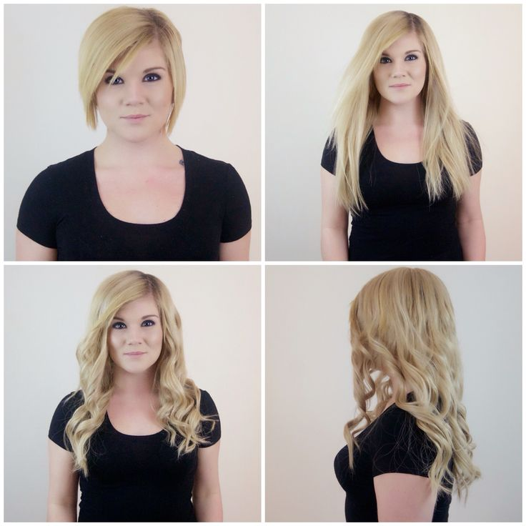 15 best hair extensions images on pinterest hair hairstyles and gorgeous before and after hair transformation achieved with tressmerize clip in hair extensions system for short pmusecretfo Image collections