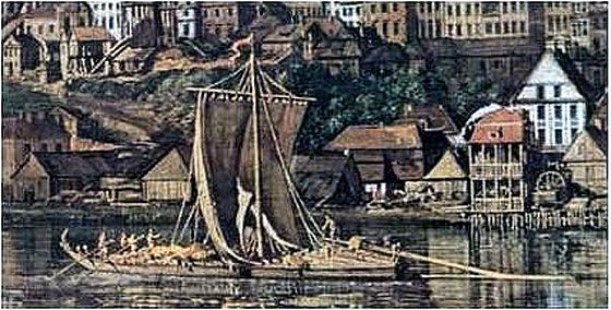 Handel wiślany - Historia okolic Konstancina