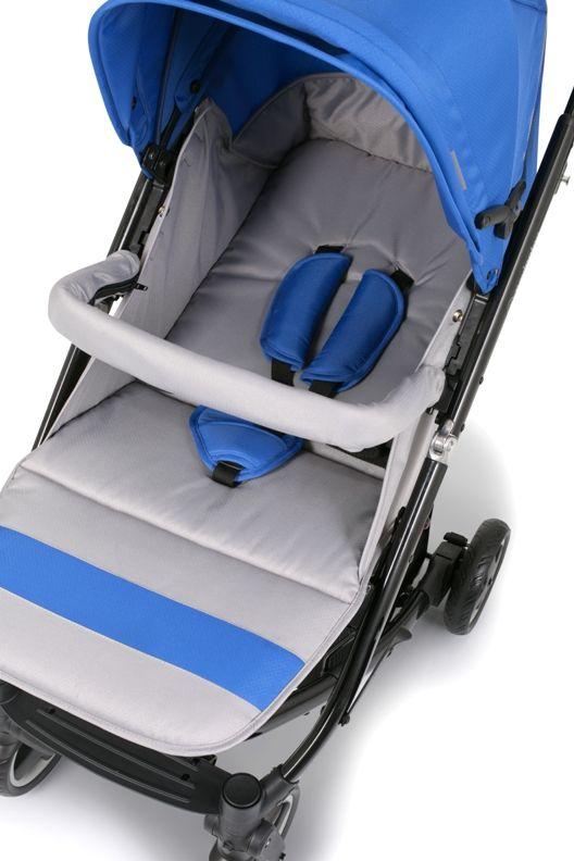 Wózek dziecięcy Scooner  Obszerne siedzisko  Lekka i przestronna spacerówka