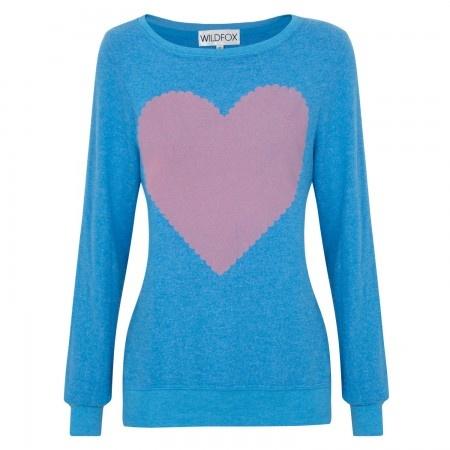 Wildfox Love Note jersey sweatshirt