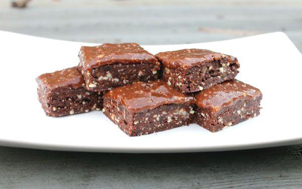 Hjemmelaget sunn og sukkerfri brownie