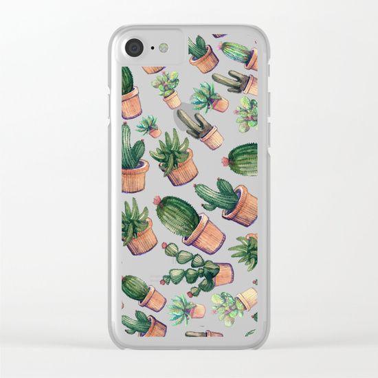 cactus big invasion!! Clear iPhone Case