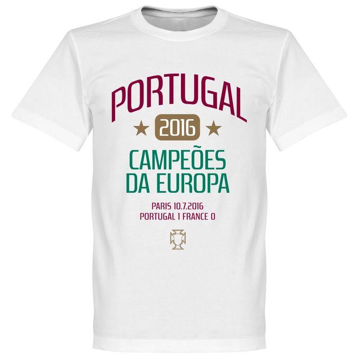 Portugal EURO 2016 Winners Ronaldo T-Shirt - XS
