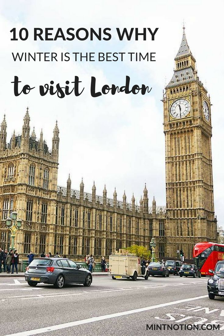 There are so many benefits to visiting London in the off season. Click through to find out 10 reasons why winter is the best time to visit London!