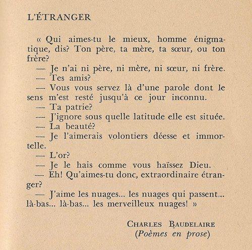 Charles Baudelaire et les nuages                                                                                                                                                                                 Plus