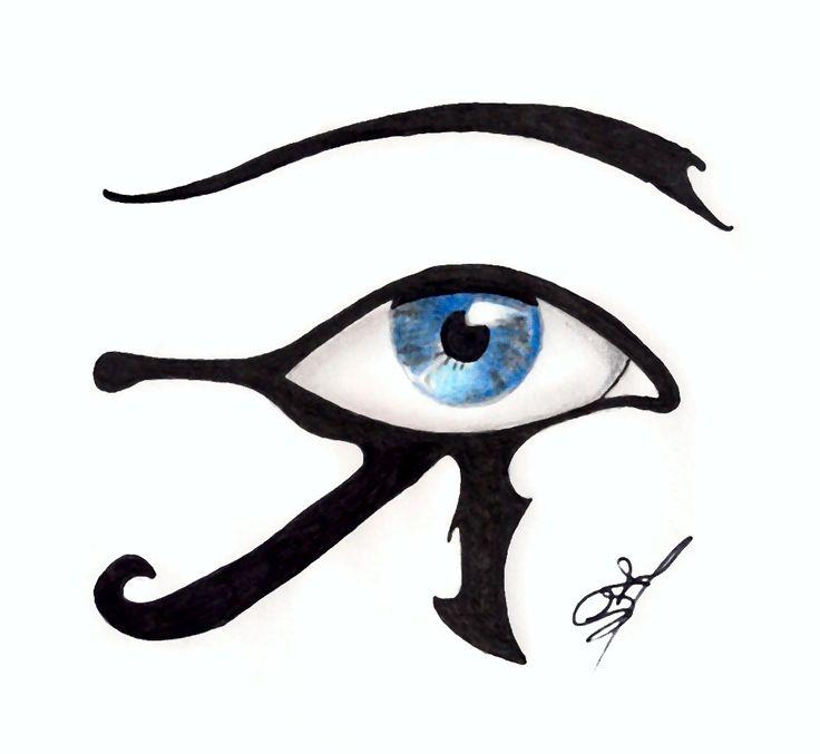 Egyptian eye Tribal