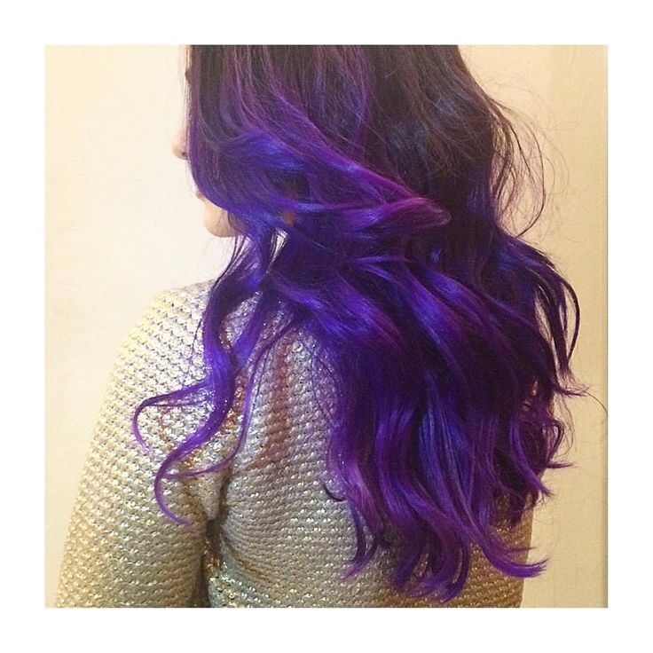 The 25+ best Permanent purple hair dye ideas on Pinterest