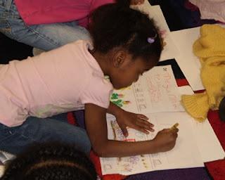 "Writing to read in kindergarten: explore the power of ""kid"