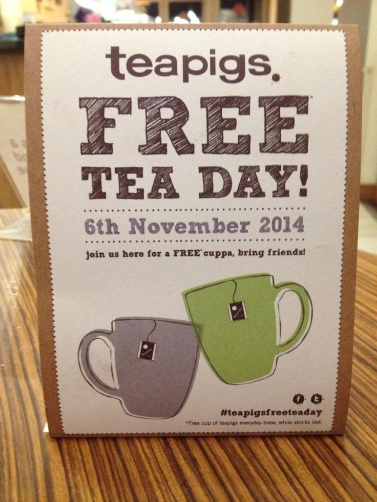 Moksha Caffe in Brighton took part in #teapigsfreeteaday yesterday. Giving away a 100 cups of tea to thirsty people!
