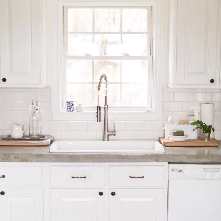 1000 Ideas About White Concrete Countertops On Pinterest