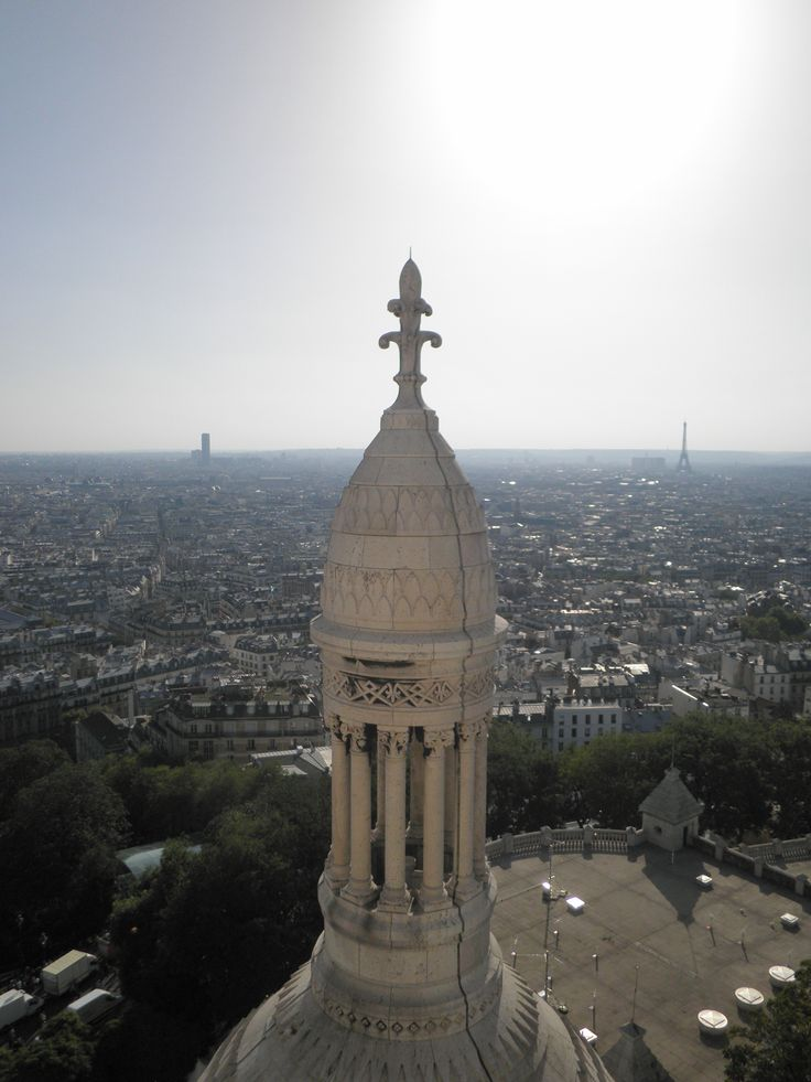 Walk on the roof of Sacre Coeur in Paris, France (picture: Christoffer Volf)