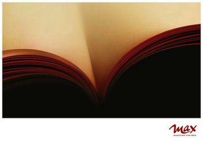読書の秋にちなんだ(?)、トリックアート的広告 - ARTRICKS(アートリックス)
