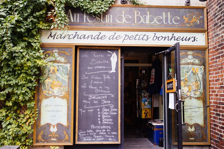 A bit of ''Paris in Montreal '' - Au Festin de Babette – 4085 rue Saint Denis, Monteal . - Credit image By Alex -