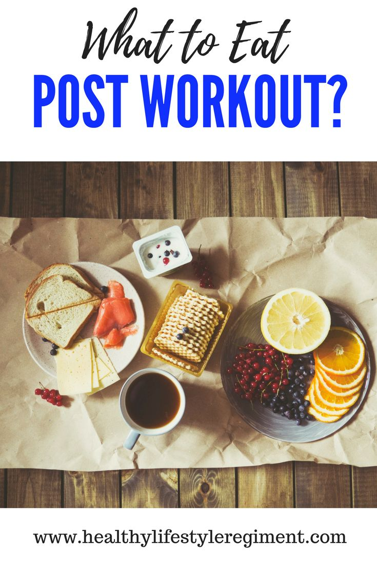 What foods should you eat to refuel after a workout. Find out at http://www.healthylifestyleregiment.com/post-work-out-snack/