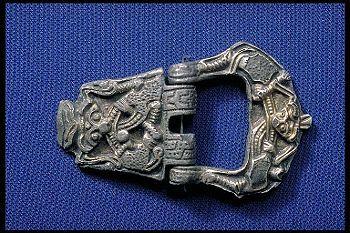 buckle from Birka (Historiska Museet)