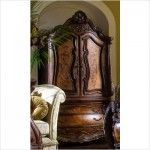 AICO Furniture - Chateau Beauvais Armoire in Noble Bark - 75080B/75080T  SPECIAL PRICE: $3,598.00