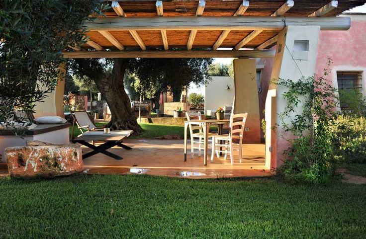 Masseria Picca Picca - esterno giardino