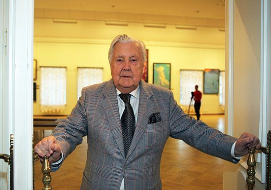 Илья Глазунов открывает Музей сословий России