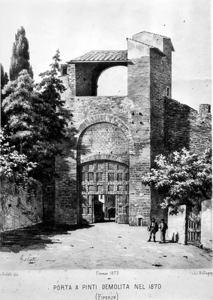 Porta a PInti, demolished in 1870