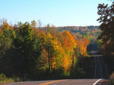 Lake Superior Scenic Drive, Upper Peninsula, and Wisconsin Fall Colors