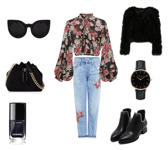 """""""Untitled #29"""" by evachrisomalli-1 on Polyvore featuring Citizens of Humanity, Jill Stuart, Karen Millen, Delalle and Topshop"""
