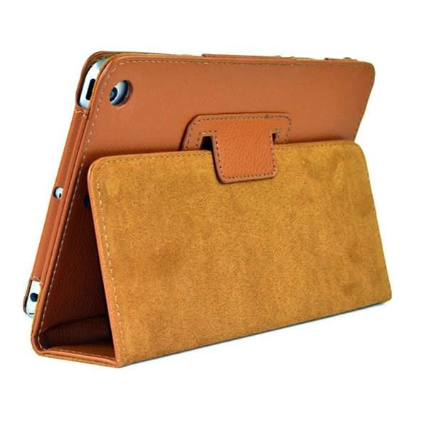 Auto Sleep /Wake Up Flip Litchi PU Leather Cover Case