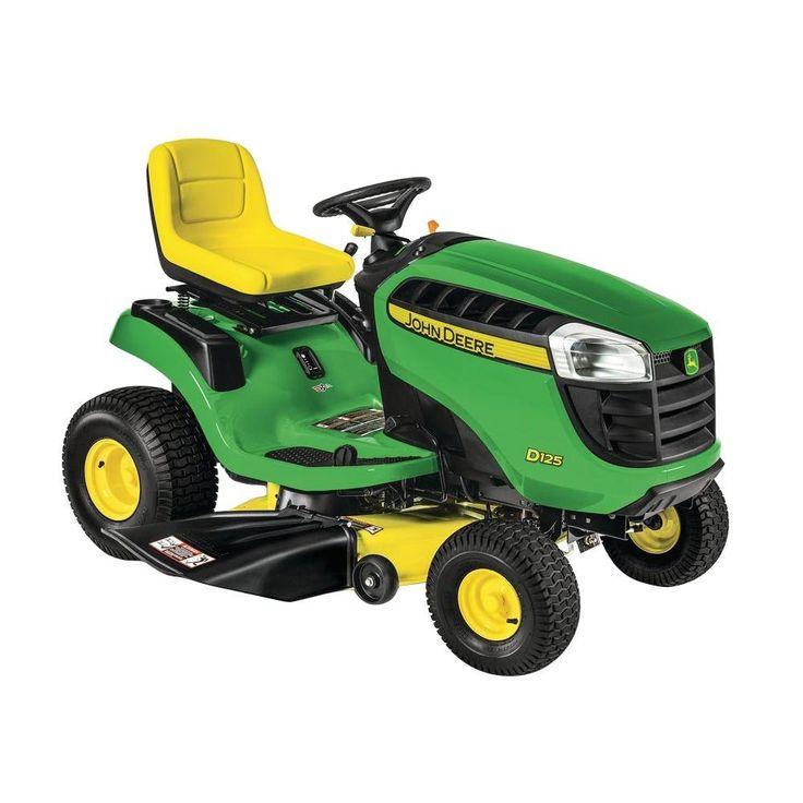 25 best ideas about john deere riding mowers on pinterest for Used lawn mower motors