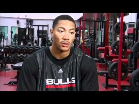 NBA FIT  Derrick Rose and Brandon Jennings Workout.flv