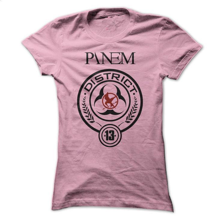 Hunger Games Panem District 13 Logo T Shirts, Hoodies, Sweatshirts - #pullover #funny t shirt. ORDER HERE => https://www.sunfrog.com/Movies/Hunger-Games--Panem--District-13-Logo.html?60505