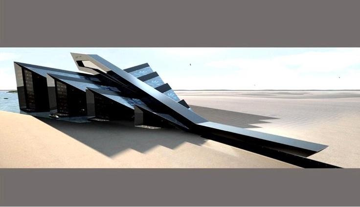 Marina design study by Porsche Design Studio