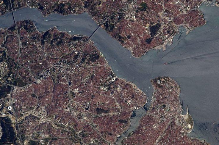 Fransız Astronot uzaydan İstanbul fotoğrafları çekti | Ontrava