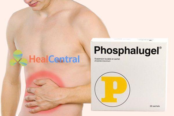 Thuốc Phosphalugel Co Thanh Phần Chinh La Aluminum Phosphate Muối Phosphat Của Kim Loại Nhom được điều Chế Dưới Dạng Hỗn Dịch Uống Phu Hợp Cho Nhữn Muối Uống