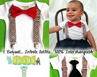Hip Baby Boy Clothes | Baby Boy Clothes - Tuxedo Baby Outfit - Coming Home Outfit - Trendy ...