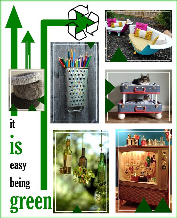 pinterest recycled crafts | Tuesday's Points of Pinterest: Upcycling ...